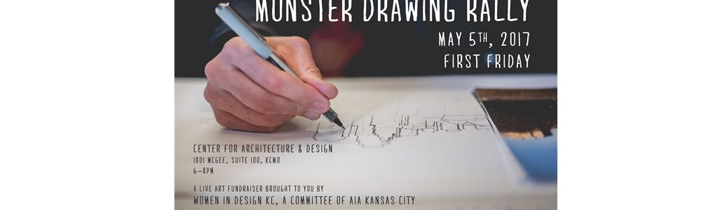 Women in Design: Monster Drawing Rally Save the Date
