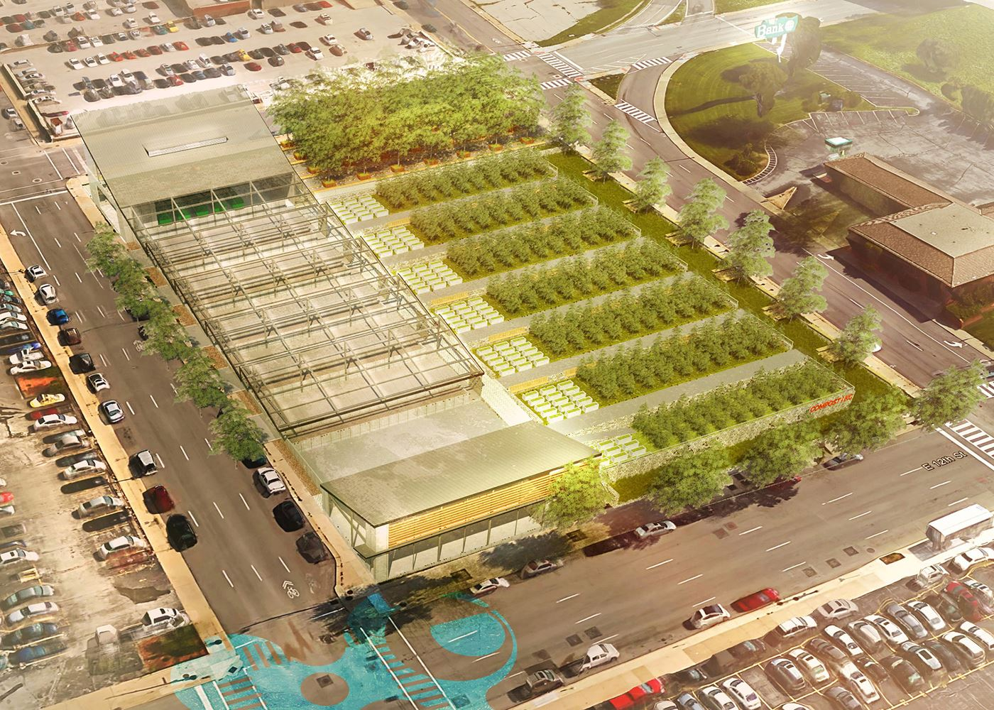 Aia kansas city concept merit for Household waste recycling centre design